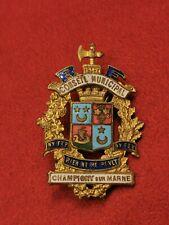Conseil municipal Champigny-sur-Marne – Insigne de fonction