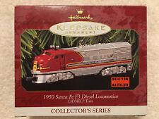 Hallmark Keepsake Ornament LIONEL Santa FE F3 Diesel Locomotive 1997 NEW
