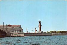 BF37514 leningrad  la pointe de l ile vassilievsky  russia  Boat Ship Bateaux