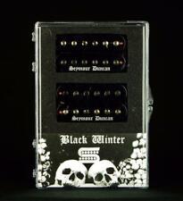 Seymour Duncan USA Black Winter Black Electric Guitar Humbucker Pickup Set