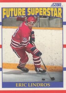 ERIC LINDROS NO:440 ROOKIE in SCORE 1990-91  near mint