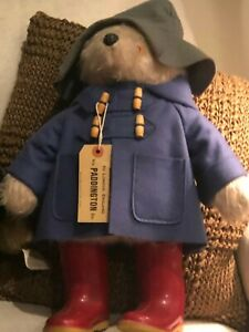 Paddington Bear by Gabrielle Designs wearing original Dunlops - Used $175.00