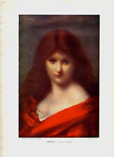 1905 - SERENA, Jean-Jacques Henner - Reproduction