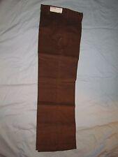 "70's Vintage Caribou Cord Corduroy Pants Womens 11/12 29"" Waist Dark Brown Jeans"