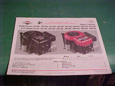 Briggs & Stratton 1993 Owner'S Manual Mower Engine