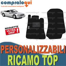 TAPPETINI per MERCEDES BENZ SL (R129) TAPPETI AUTO su MISURA + RICAMO TOP