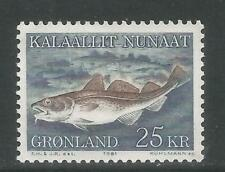 Greenland 1981 Local Marine Life 25kr-Attractive Topical (140) Mnh