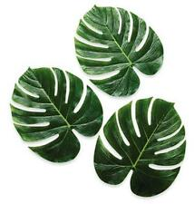 "Set of 12 Jumbo 13"" Palm Leaves Decorations Tropical Craft Hawaiian Luau Party"
