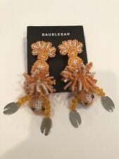 Baublebar Amazon Lizard orange pierced earring