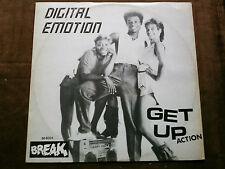 Break 12 inch Maxi    GET UP von DIGITAL EMOTION ( NL)