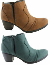 Zip Wear to Work Ankle Boots for Women