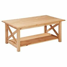 Coffee Table Pine Solid Wood Kiefertisch Living Room Wooden Massive/Lubricated