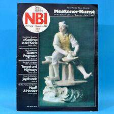 DDR NBI 3 1982 Sangerhausen Hauff & Henkler Meißen Porzellan Apolda Bangkok 85