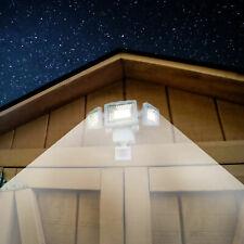 Security Light Motion Activated LED 1500 Lumen Triple Head Solar Westinghouse