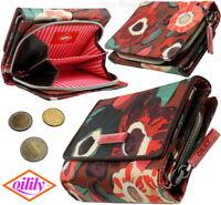 Oilily Damen-Geldbörse, Red Metall Zipper, Geldbeutel Portemonnaie Geldtasche