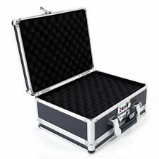 Aluminum Framed Locking Gun Pistol HandGun Lock Safe Box Hard Storage Carry Case