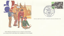 (14012) France FDC Card Scouts Lille 20 February 1982