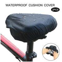 Fahrrad Sattel Regen Wasser Schutz Bezug Cover Überzug Haube Sitz Schoner Hülle