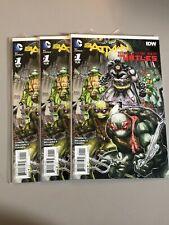 Batman Teenage Mutant Ninja Turtles #1 TMNT First Print NM- DC/IDW Comics