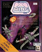 PC Big Box CD-ROM Game Star Wars: X-Wing Wars Collector's 1994 LucasArts NIB NOS