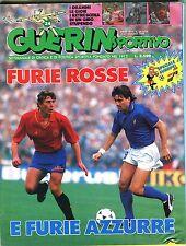 Guerin Sportivo Italian Magazine June 1988 Furie Rosse EX 091616jhe