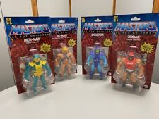 MASTERS OF THE UNIVERSE Action Figures HE-MAN MER-MAN SKELETOR ZODAC - NEW!!