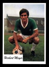 Herbert Meyer Autogrammkarte Werder Bremen Spieler 60er Jahre Original Sign+2