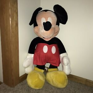 "Disney Store Mickey Mouse Giant 42"" Plush Stuffed Toy Jumbo"