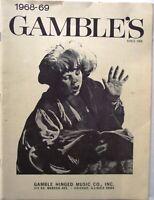 Vintage Gambles Catalog Aldens October 1968 Household 40 Pages