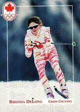 1992 Canadian Olympic Hopefuls #41 Rhonda Delong