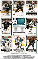 2011-12 Panini Score Glossy San Jose Sharks Complete Master Team Set (20)