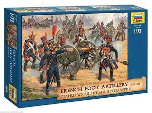 Zvezda 8028 French Foot Artillery 1810-1815 1/72