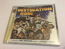 DESTINATION GOBI (Kaplan) OOP Intrada Ltd (1000) Score OST Soundtrack CD SEALED