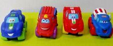 Playskool And Friends Soft Mini Chunky Car Lot of 4