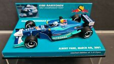 Minichamps 1:43 - Sauber C20 - K. Raikkonen - Australian GP - first point - 2001