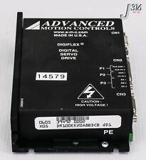 14579 ADVANCED MOTION CONTROLS DIGIFLEX DIGITAL SERVO DRIVE DR100EE20A8BDCB