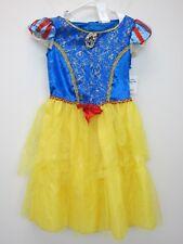 Disney Girl's Snow White Dress Costume M (8-10) Multi  NWT