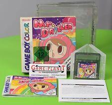 Mr. Driller Nintendo Game Boy Color GBC Neu-wertig OVP mitAnleitung BOX
