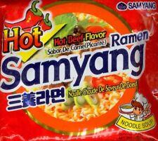 [Samyang] Ramen Beef Soup Flavor Savory Taste Noodles (120g) + Free Cookies