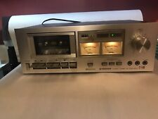 Vintage Pioneer Ct-F500 Silver Face Cassette Deck Player Recorder Excellent Cond