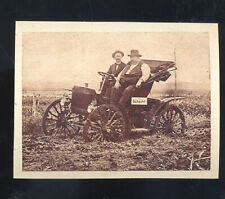 1910 SCHACHT AUTOMOBILE CAR DEALER ADVERTISING POSTCARD COPY