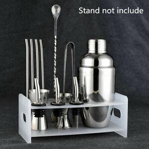 5pcs Stainless Steel Cocktail Shaker Maker Mixer Bar Drinks Gift Set Bartender