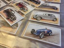 "John Player Cigarette Cards 1936 ""Motor Cars"" Full Set 50"