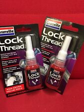 2 X LOCK NUTS THREADLOCK 10ML SIM  LOCKTITE THREADLOCK  STRENGTH SUPERSIZE 10ML