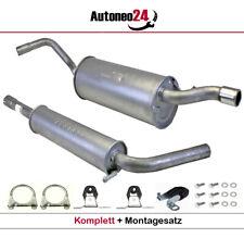 Auspuffanlage ab Kat VW POLO V 1.4 (6R1) ab. Bj. 2009-2014 Auspuff, Endtopf