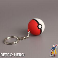 Pokemon Schlüsselanhänger Pokeball Pikachu keychain GO Ash Ball Anhänger NEU