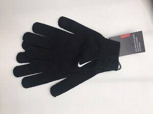 Nike Swoosh Knit Gloves black Adult L-XL BNWT