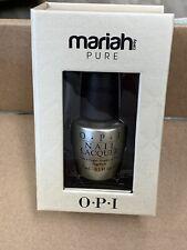 Opi Nail Lacquer Polish Mariah Carey Pure Top Coat 18k White Gold & Silver E57
