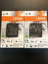 """16/"""" 3//8 .050 60 DRIVE LINKS OEM STIHL CHAINSAW CHAIN # 3624 005 0060 33RS360"""
