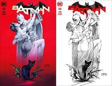 Batman #50 ~ Linsner Wedding Variant ~ Cover 'A' & 'B' ~ Galaxy Comics Exclusive